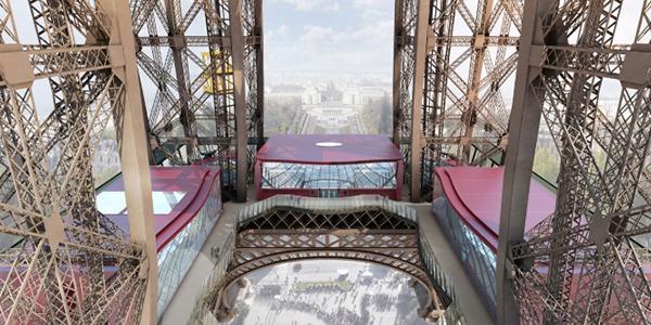 1er étage de la Tour Eiffel –  Paris